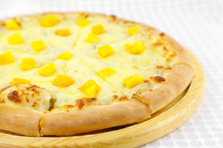 香蕉芝士披萨
